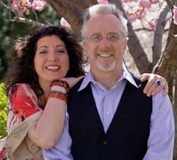 Rita Strough and Michael Gross