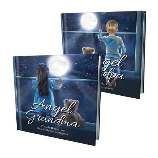 Angel Grandma author Heather Lean
