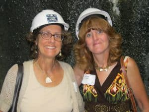 Wendy Fachon and Bonnie Combs